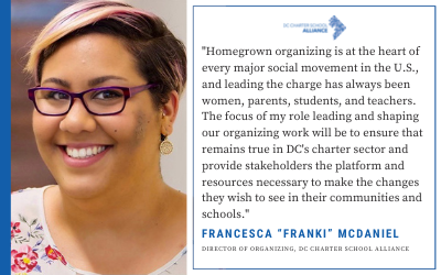 DC Charter School Alliance Announces New Director of Organizing