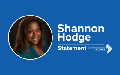 Statement from Shannon Hodge on Equity in DC Schools